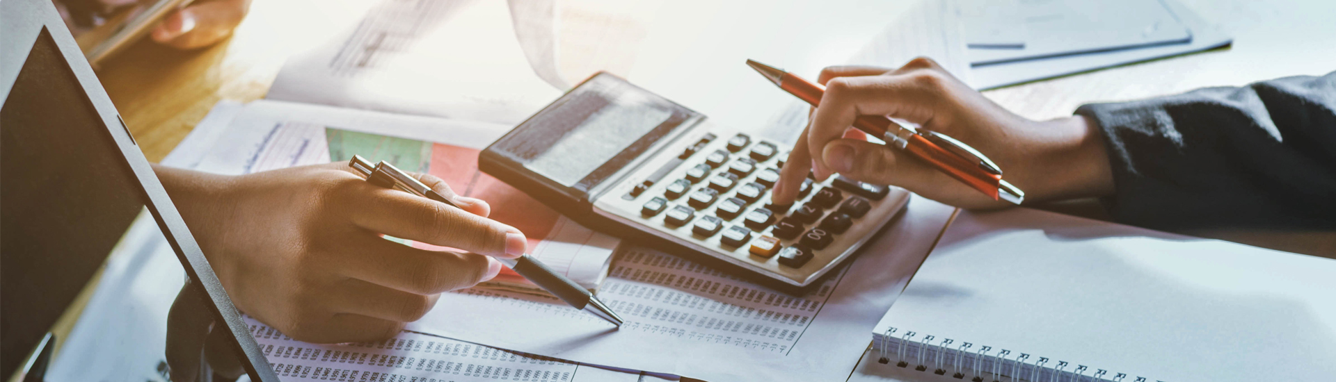 Financing, financial and tendering advices