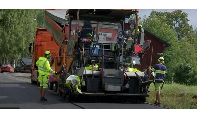 Using bioasphalt in the Swedish construction industry