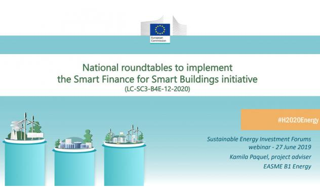 The new Horizon 2020 Energy project is under preparation